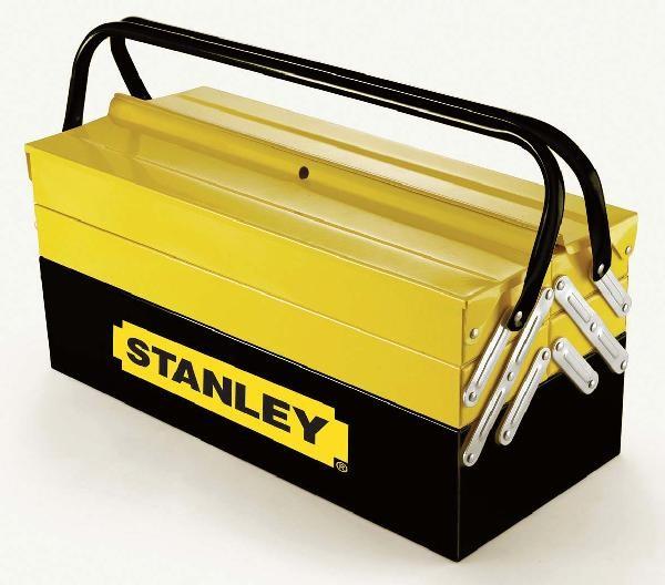 boite à outils 5 casiers metal