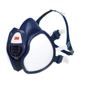 Demi-masque à filtres intégrés