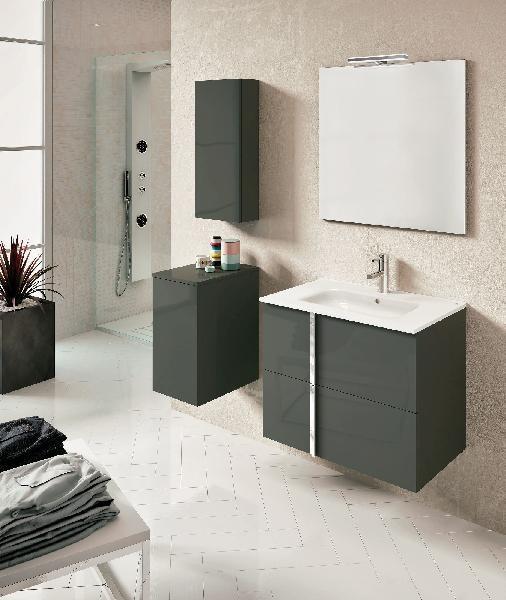 meuble salle de bain 2 tirroirs onix
