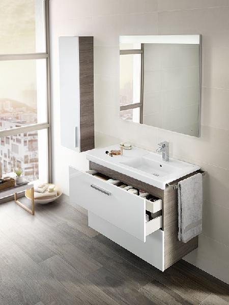 meuble salle de bain 2 tirroirs pack prisma