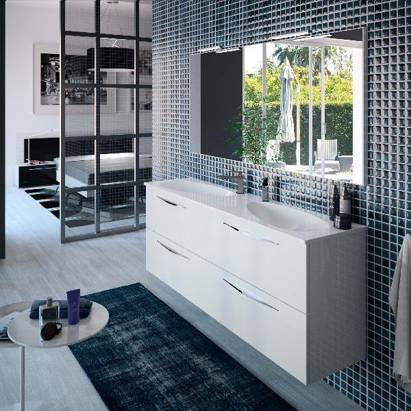 meuble sous vasque slim