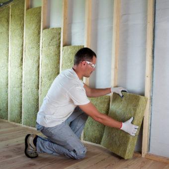 matériaux de chantier isolation murale
