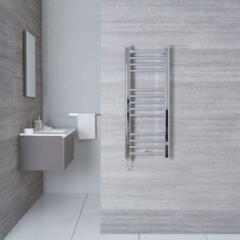 Sèche Serviette chromé pour salle de bain