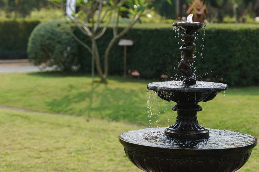 Fontaine d'eau extérieure pour la décoration du jardin