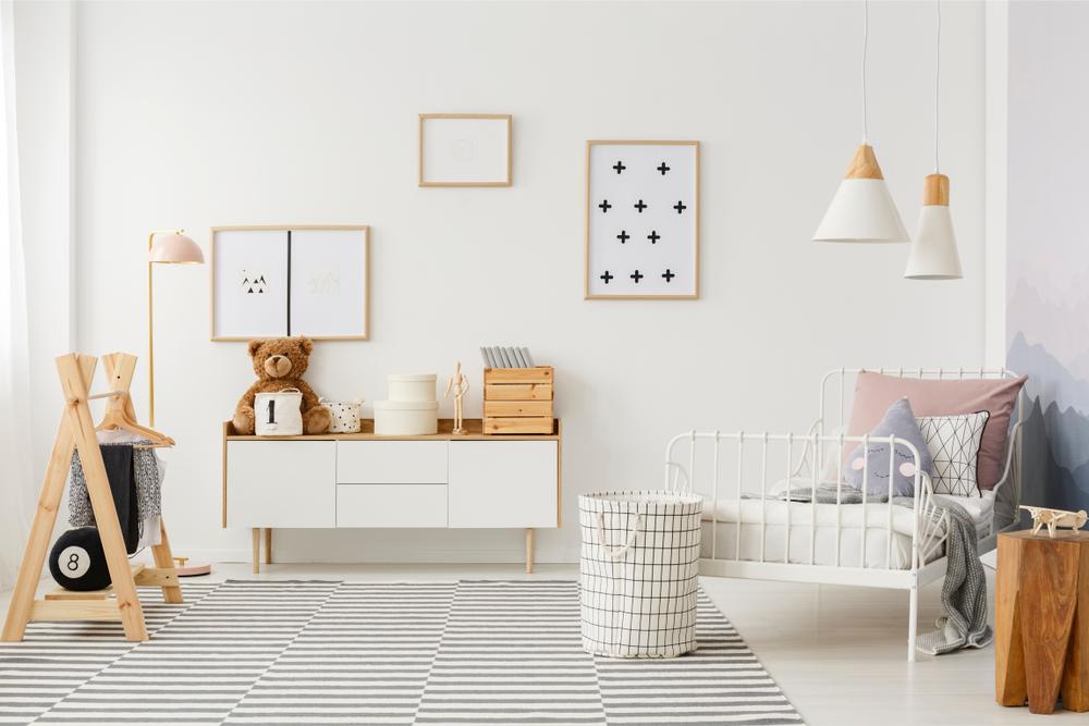 Une chambre d'enfant déco scandinave